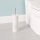 Home Accents Paris Collection Hide-Away and Splash Proof Toilet Brush with Hygienic Holder