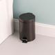 Home Accents 3 Liter Steel Step Waste Bin