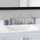 Home Accents Home Basic 4 Piece Rubberized Ceramic Bath Accessory Set