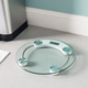 Home Accents Round Glass Bathroom Scale