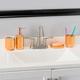 Home Accents 4 Piece Ceramic Bath Accessory Set