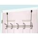 Home Accents Steel 5 Hook Over-the-Door Hanging Rack
