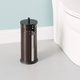 Home Accents Vented Steel Bath Tissue Reserve with Lid