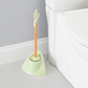 Home Accents Bamboo Collection Toilet Brush Holder Set