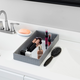 Home Accents Decorative Vanity Tray with Mirror