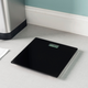 Home Accents Contemporary Sleek LCD Display Digital Glass Bathroom Scale