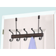 Home Accents Bronze Over-the-Door 5 Hook Hanging Rack