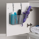 Home Accents Steel Over the Cabinet Hairdryer Organizer