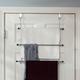 Home Accents Over-the-Door Chrome Towel Rack