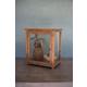 Kalalou Wood And Glass Display Case