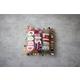 Kalalou Life Is Good Kantha Pillow