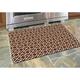 Bungalow Premium Comfort Tazekka Grid Chocolate 22