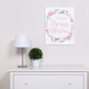 Trend Lab Painterly Floral Canvas Wall Art