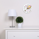 Trend Lab Oh the Places You'll Go Pink Wall Clock
