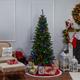 Sterling 7Ft. Pre-Lit Ozark Pine with 230 Dual Color Changing LED Lights