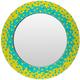 Eckley Mosaic Style Multi-Color 31.5