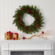 Christmas 32'' Cypress with Berries and Pine Cones Artificial Wreath