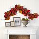 Harvest 6' Autumn Magnolia Leaf with Berries Artificial Garland
