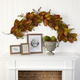 Harvest 6' Autumn Magnolia Leaf and Berries Artificial Garland