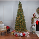 Sterling 9Ft. Natural Cut Slim Montgomery Pine with 800 Clear lights