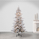 Sterling 7.5Ft. Flocked Cambridge Fir Tree with 550 Clear Lights