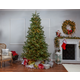 Sterling 9-Foot High Pre-Lit Natural Cut Portland Pine with Instant Glow Power Pole Feature