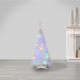 Sterling 4-Foot High Pop Up Pre-Lit White Pine Tree with Multi-Color Lights
