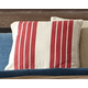 Striped Pillow and Insert