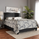 Baxton Studio Ansa Upholstered Queen Bed