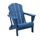 Venice Folding Outdoor Poly Adirondack Chair