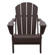 Venice Folding Outdoor Poly Adirondack Chair