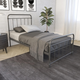DHP Atwater Living Wyn Twin Metal Black Bed