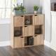 HDS Trading 9 Cube Wood Storage Shelf