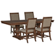 Windville Dining Table and 4 Chairs