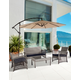 Chase 4-Piece Outdoor Woven Rattan Wicker Sofa Set