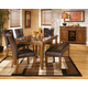 Lacey Dining Table and 4 Chairs and Bench