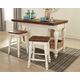 Marsilona 3-Piece Kitchen Island Set