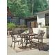 Burnella 5-Piece Outdoor Round Dining Set