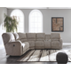 Pittsfield 3-Piece Reclining Sectional with Power