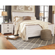 Willowton Queen Bed with 2 Nightstands