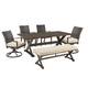 Moresdale 8-Piece Outdoor Rectangular Dining Set