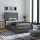 DHP Atwater Living Jazmine Twin Upholstered Bed