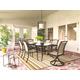 Burnella 7-Piece Outdoor Rectangular Dining Set