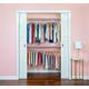 Organized Living freedomRail® Basic Adjustable Closet Kit, 48