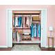 Organized Living freedomRail® Basic Adjustable Closet Kit, 72