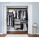 Organized Living freedomRail® Premium Adjustable Closet Kit, 72