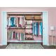 Organized Living freedomRail® Basic Adjustable Closet Kit, 96