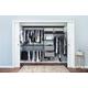 Organized Living freedomRail® Premium Adjustable Closet Kit,  96