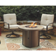 Predmore 3-Piece Outdoor Fire Pit Conversation Set