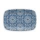 TarHong Melamine Atlantic Blue Medallion Rectangular Platter